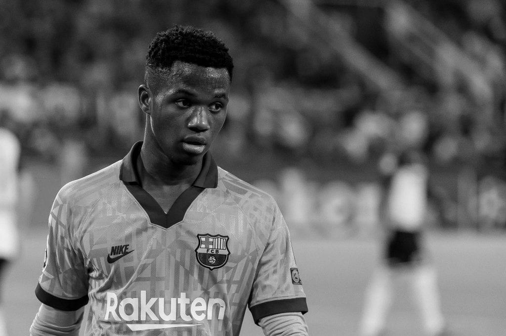 Ansu Fati Riqui Puig Barcelona Champions League