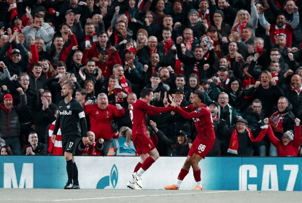 Andrew Robertson Trent Alexander-Arnold Liverpool Barcelona full-back