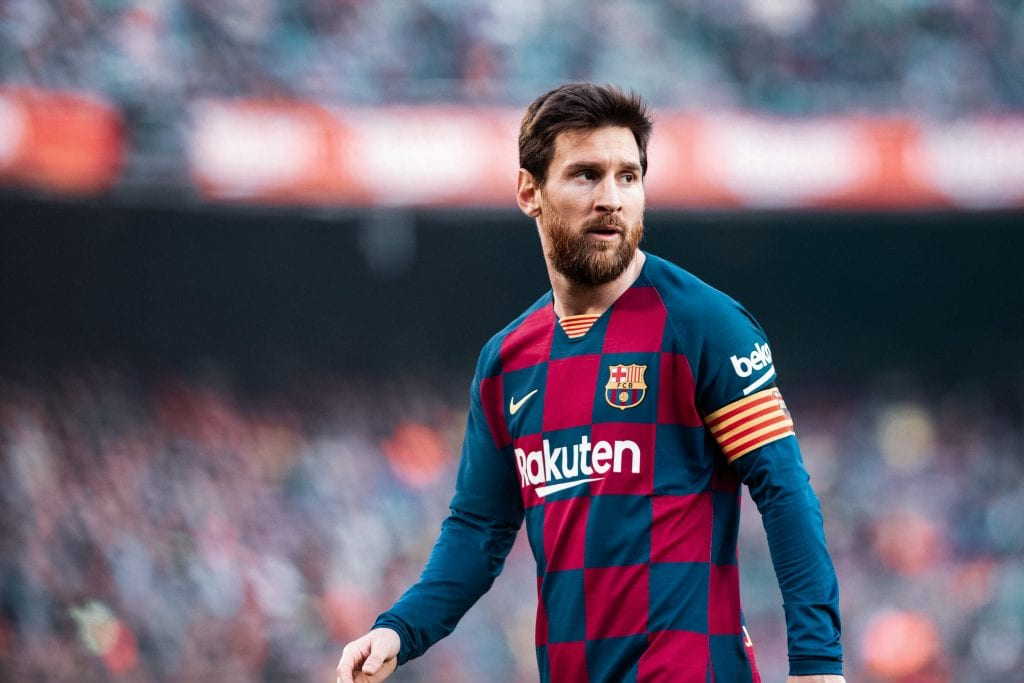 Lionel Messi Barça rely