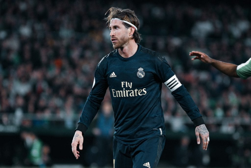 Sergio Ramos Real Madrid Barça La Liga Champions League
