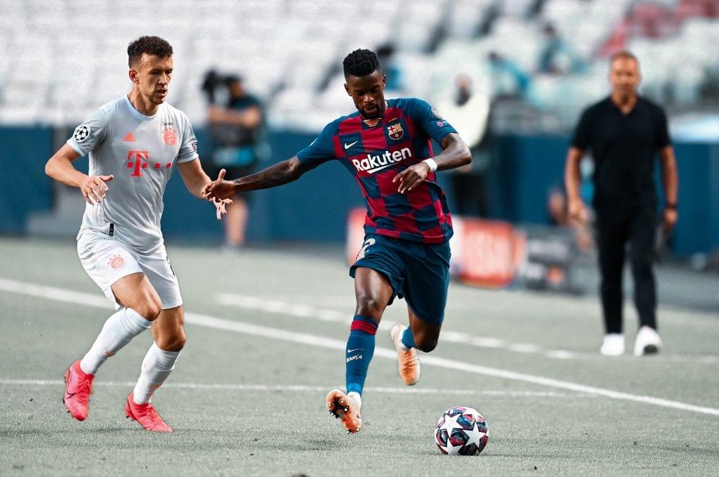 Nélson Semedo Ivan Perišić Barcelona Bayern wrong