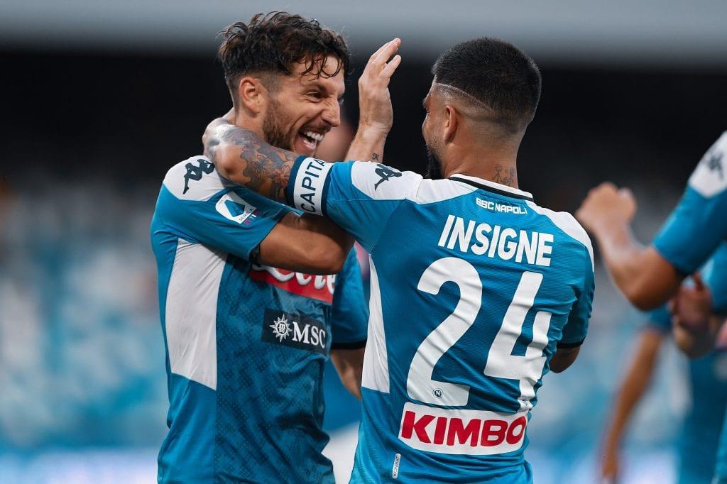 Dries Mertens Lorenzo Insigne Napoli tactical analysis