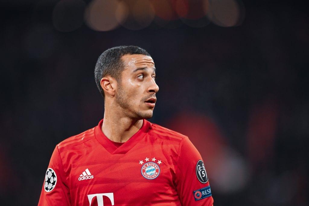 Thiago Alcântara Bayern Barça