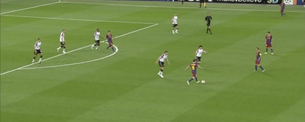 Andrés Iniesta Lionel Messi Barça Manchester United 2011 Champions League final tactical analysis