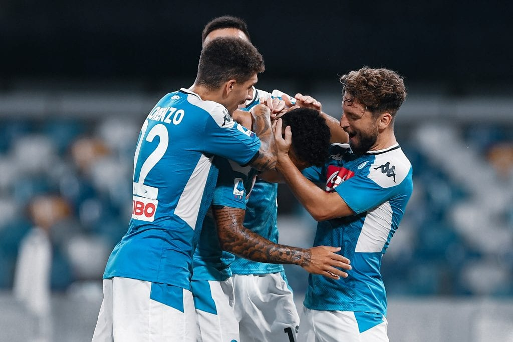 Dries Mertens Lorenzo Insigne Napoli Barcelona match preview
