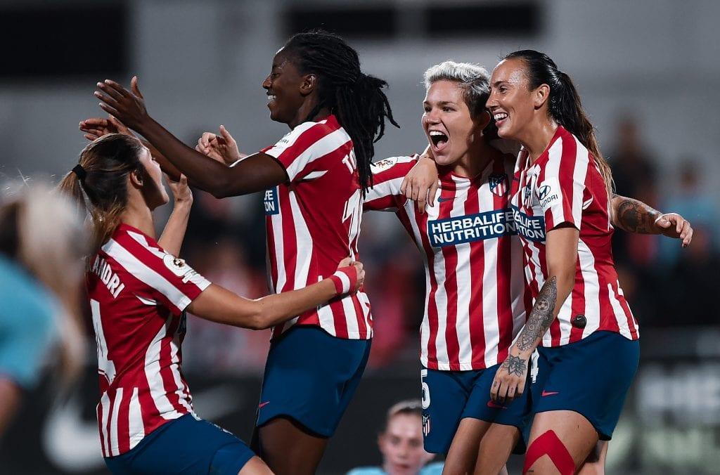 Aissatou Tounkara Atlético de Madrid Barça Femení Women's Champions League