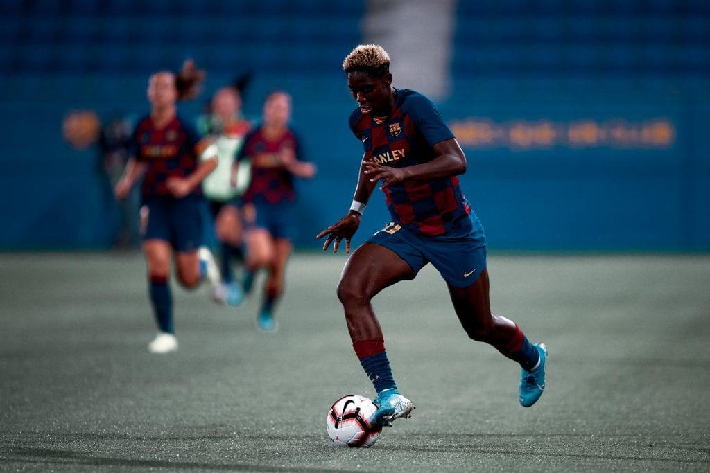 Asisat Oshoala Barça Femení Women's Champions League