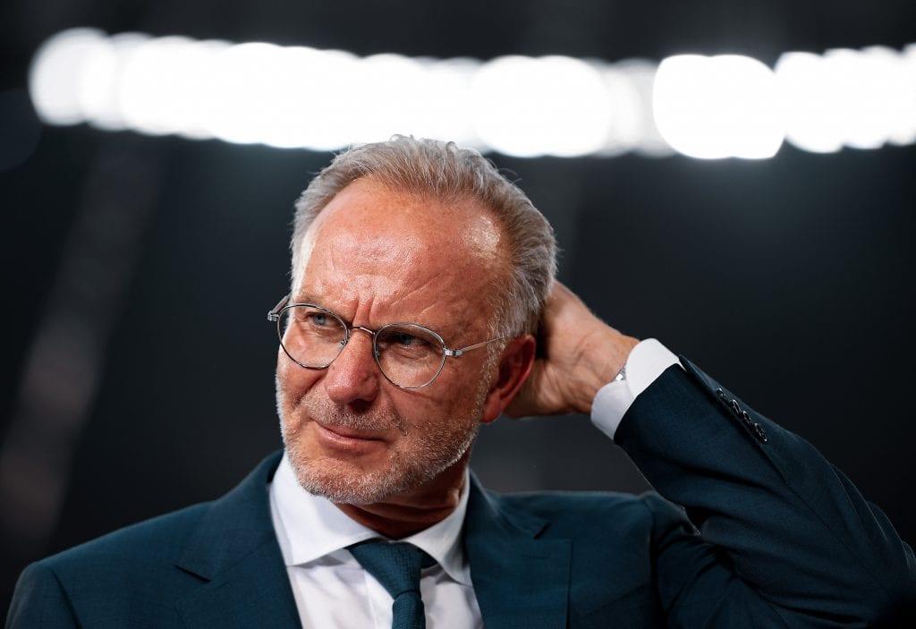Karl-Heinz Rummenigge Bayern Barcelona underdogs
