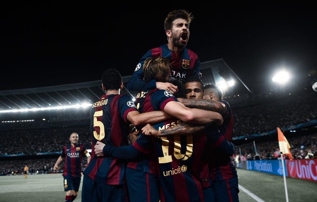 Sergio Busquets Lionel Messi Gerard Piqué Barcelona Bayern match preview