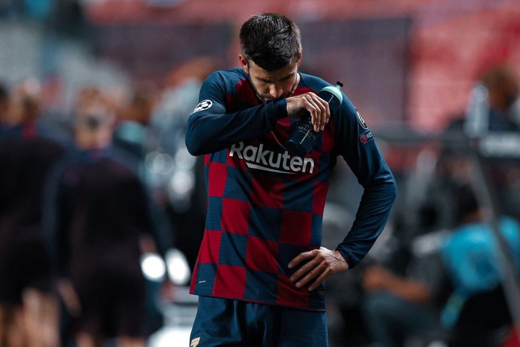 Gerard Piqué Barça Bayern Munich humiliation