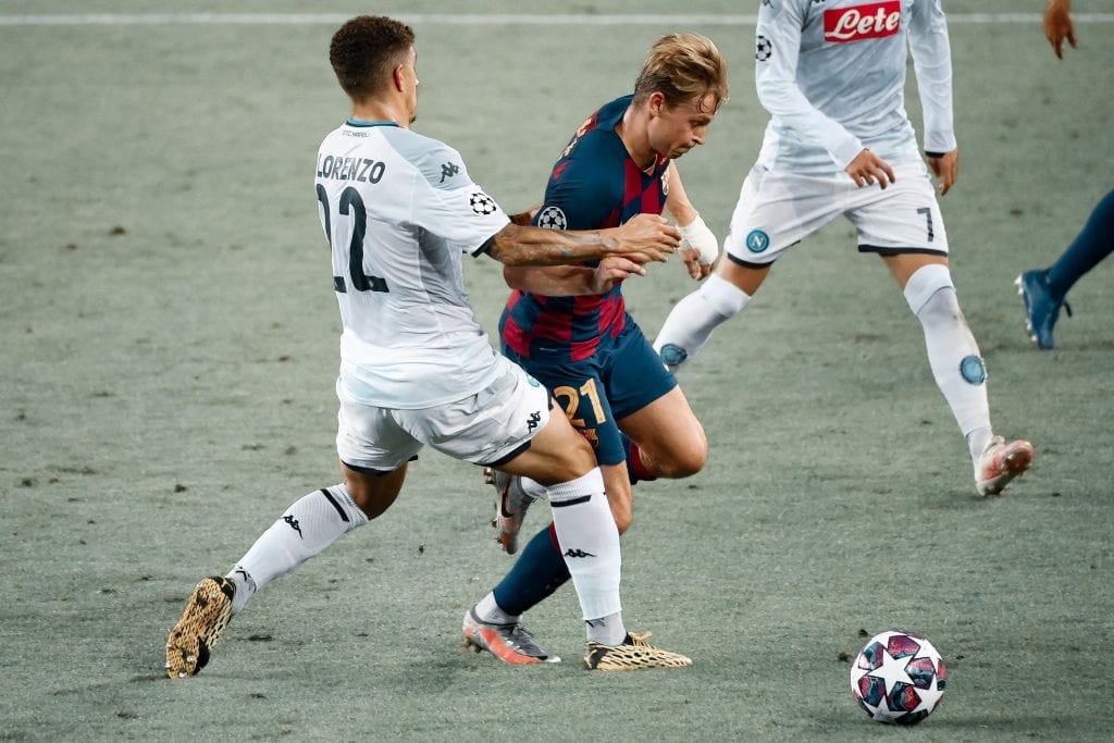 Frenkie de Jong Barcelona Napoli