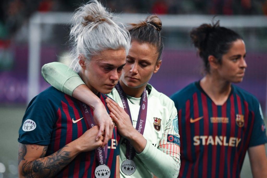 Mapi León Sandra Paños Barcelona Women's Champions League favourites
