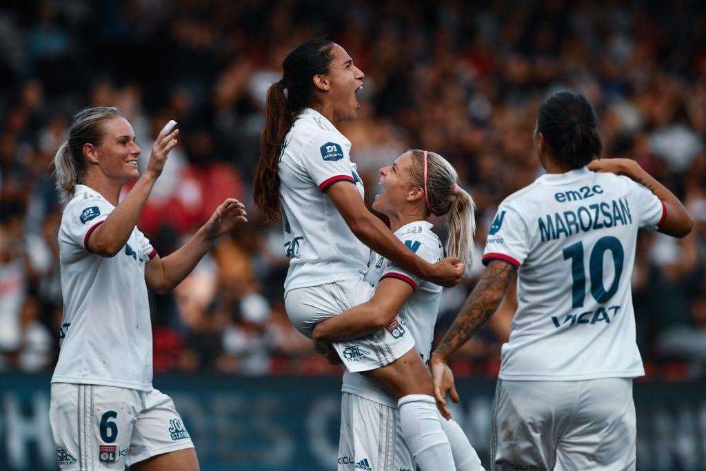 Amel Majri Olympique Lyonnais Barça Femení Women's Champions League