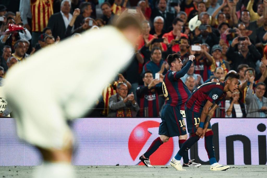 Lionel Messi Neymar Júnior Manuel Neuer Barcelona Bayern predicting