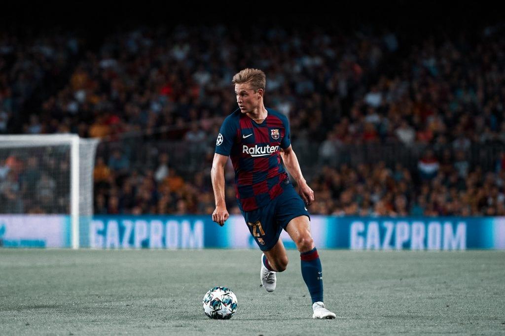 Frenkie de Jong Barcelona Napoli predicting