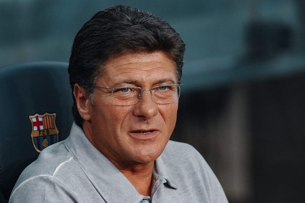 Walter Mazzarri Barcelona 5–0 Napoli Trofeu Joan Gamper