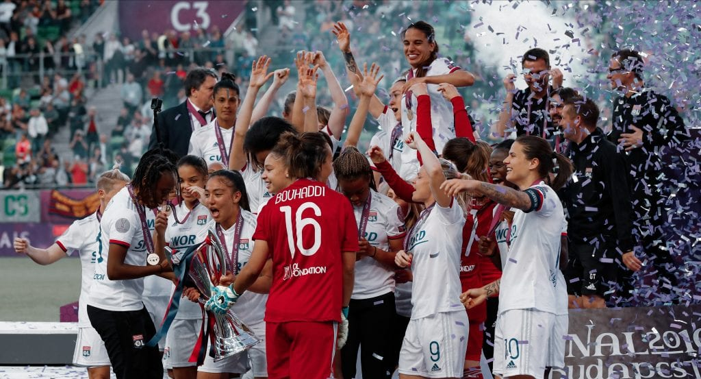 Olympique Lyon Women's Champions League favourites