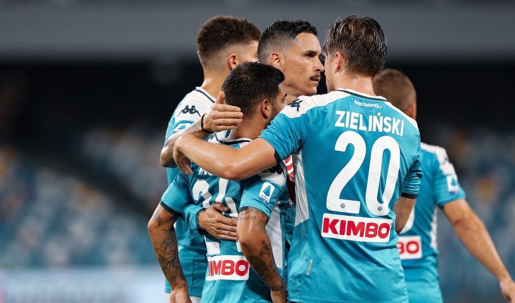 SSC Napoli Champions League format Barcelona