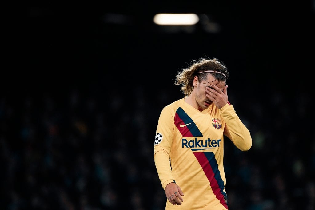 Antoine Griezmann Barcelona Champions League edition