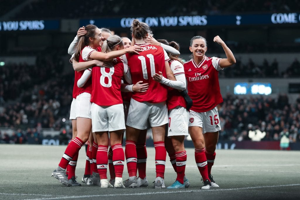 Arsenal Women's Champions League favourites