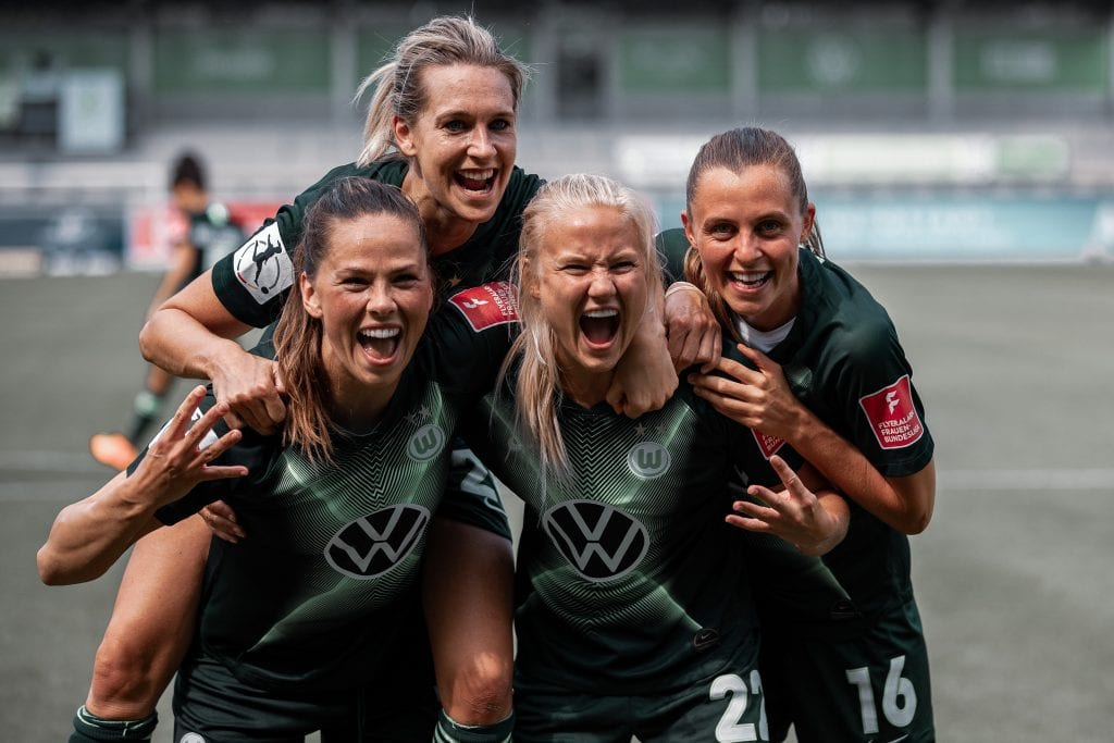Wolfsburg Women's Champions League favourites
